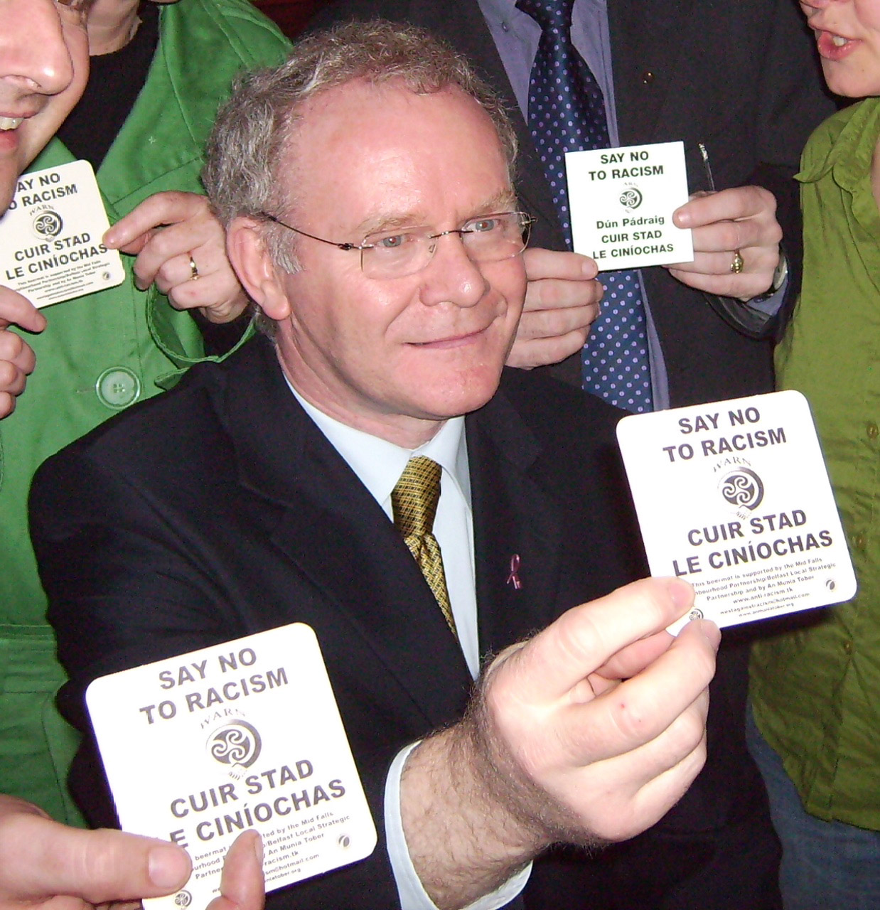 Martin-standing-up-against-racism